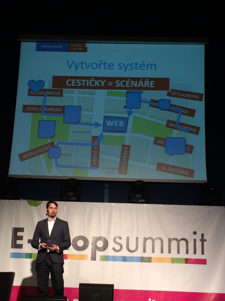 Cestičky a pastičky marketingové strategie: EshopSummit 2016 : Michal Krutiš
