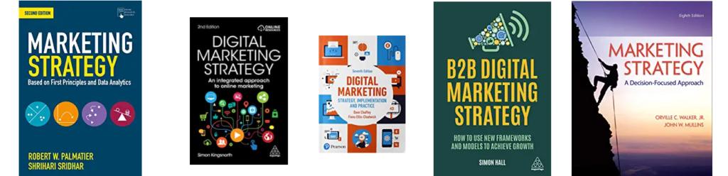 Doporučené knihy o marketingové strategii